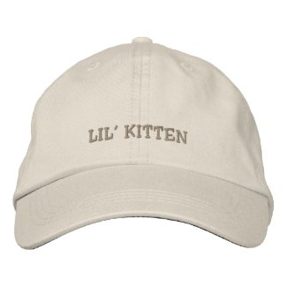 Lil' Kitten Cap embroideredhat