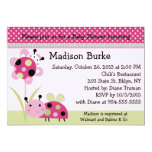 Lil Little Ladybugs Baby Shower Invitation