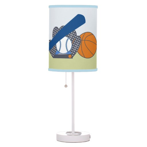 Lil' Little Sports Player Nursery Lamp