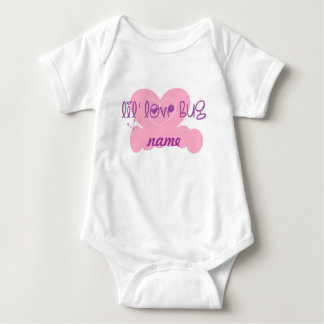 Lil love bug: customize w/name t-shirt