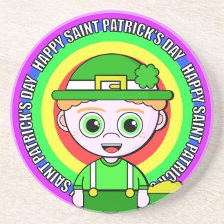 Lil Lucky Saint Patrick's Day Drink Coaster