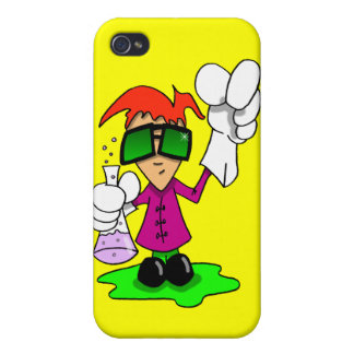Lil Mad Scientist Cover For iPhone 4