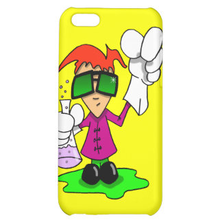 Lil Mad Scientist iPhone 5C Covers