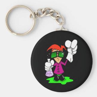 Lil Mad Scientist Keychain