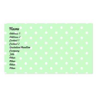 Lil' Miss Cuppy Cake Profile Card Business Card