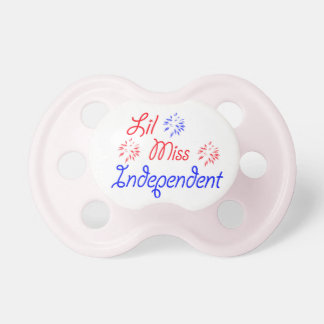 Lil Miss Independent Pacifier
