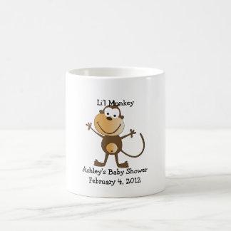 Li'l Monkey Baby Shower Favor Mug