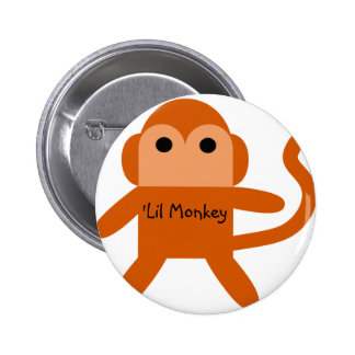 Lil Monkey Buttons