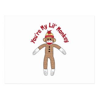Lil Monkey Postcard