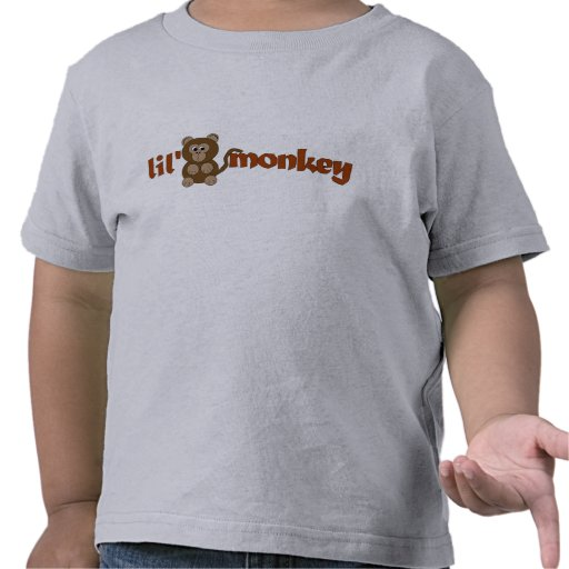 Lil monkey t shirt