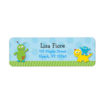 Lil Monster Address Labels