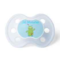 Lil Monster Baby Boy Personalized Pacifier
