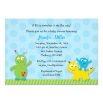 Lil Monster Baby Shower Invitation