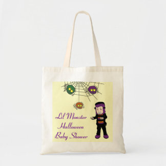 Lil Monster Baby Shower Tote Bag