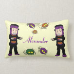 Lil Monster Baby Throw Pillows