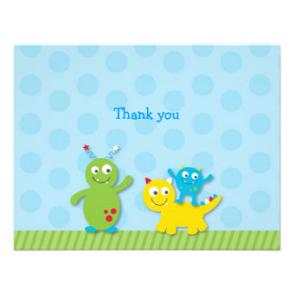Lil Monster Flat Thank You Note Cards