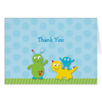Lil Monster Thank You Note Cards