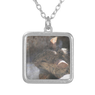 Lil Mouse Silver Plated Necklace