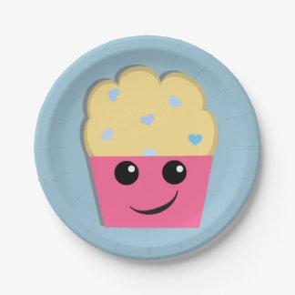Lil Muffin 7 Inch Paper Plate