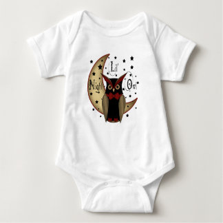Lil Night Owl creeper/ Onesy Baby Bodysuit
