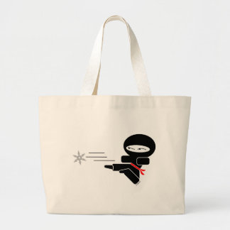 Lil' Ninja Large Tote Bag