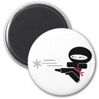 Lil Ninja Refrigerator Magnet