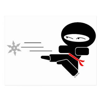 Lil' Ninja Postcard