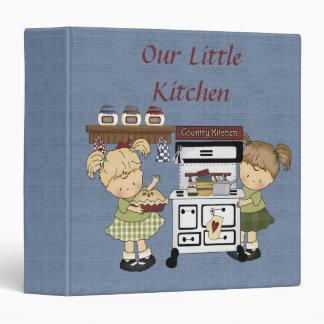 Lil' One's Kitchen Recipe Book / 1.5 Inch Vinyl Binders