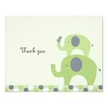 Lil Peanut Elephant Flat Thank You Note Cards