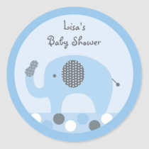 Lil Peanut Elephant Stickers Labels