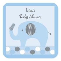 Lil Peanut Elephant Stickers Labels