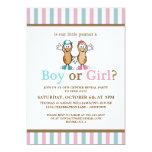 Lil Peanut Gender Reveal Party Invitation Invite