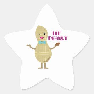 Lil Peanut Star Stickers