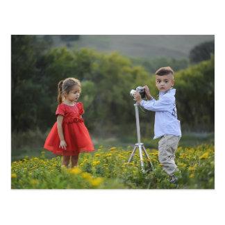 Lil photographer postcard