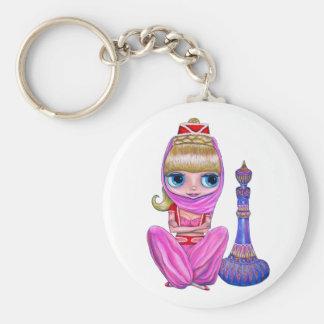 Lil' Pink Genie Keychain
