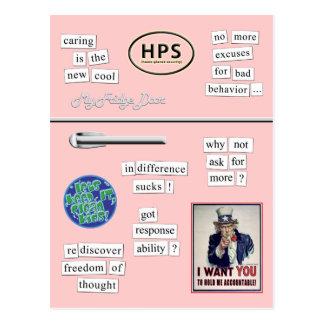 'lil pink postcard