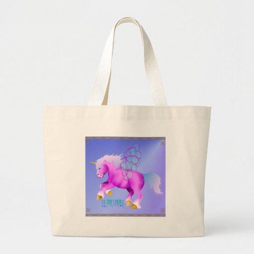 'Lil Pink Unipeg poster Bag