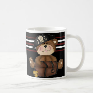 Lil Pirate Bear Happy Birthday Kids Mug