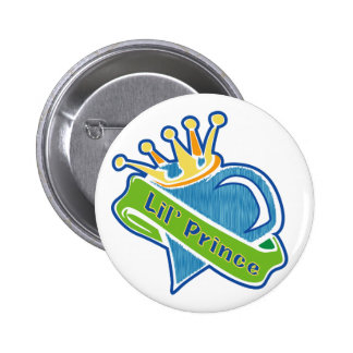 Lil Prince Pinback Buttons