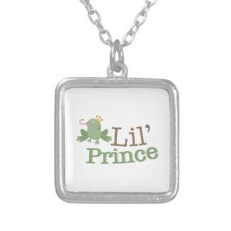 Lil Prince Square Pendant Necklace