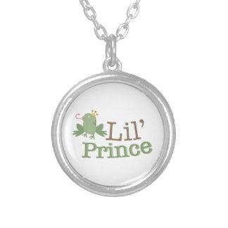 Lil Prince Round Pendant Necklace