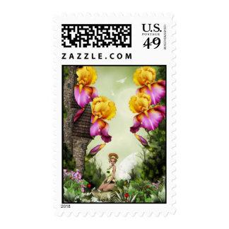 Lil Princess Postage Stamps