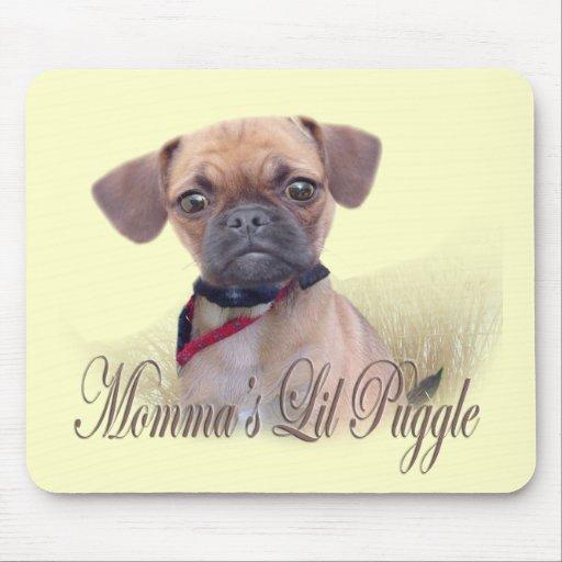 Lil Puggle de Momma Tapetes De Raton
