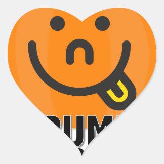 Lil Pumpkin Brat Heart Sticker