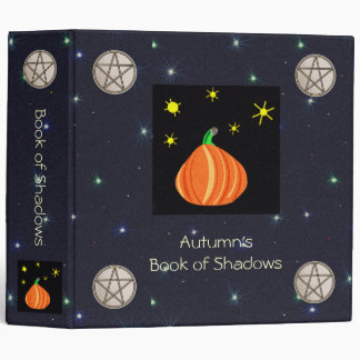 Lil' Pumpkin & Pentacles Book of Shadows Grimoire Binder