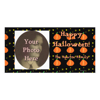 Lil Pumpkin's Halloween Photo Ready Card