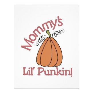 ¡Lil Punkin de la mamá! Membrete A Diseño