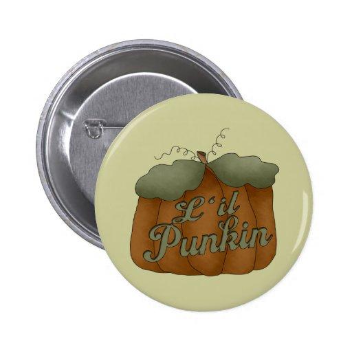 L'il Punkin Round Button