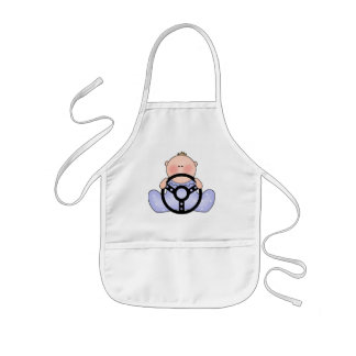 Lil Race Baby Boy Kids' Apron