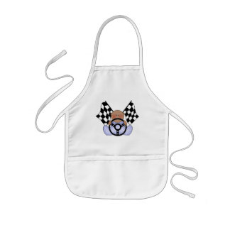 Lil Race Winner Baby Boy- Ethnic Kids' Apron